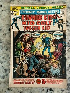 The Mighty MARVEL Western#16 1971 Rawhide Kid, Kid Colt, Two-Gun Kid