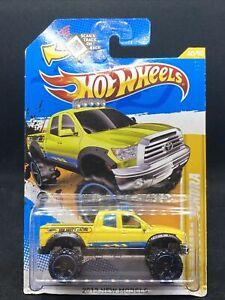 2012 Hot Wheels New Models # 40/50  '10 Toyota Tundra Yellow - NEW