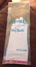vintage van raalte flexibles nylon gloves new fits all sizes
