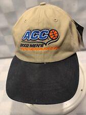 ACC 2002 Men's Tournament Basketball Adjustable Adult Baseball Ball Cap Hat