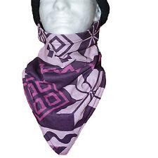 Seirus Snowdana Neck Gaiter Stretch Insulated Face Mask Bandana Purple