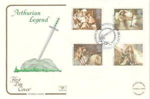 3 SEPT 1985 ARTHURIAN LEGEND COTSWOLD FIRST DAY COVER MORTE d'ARTHUR MERE SHS