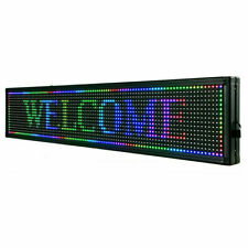 Saleprogrammable Scrolling Message Board Advertising Scrolling Sign Seven Color