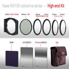 kase k100 wolverine series high-end kit (holder+S GND+R GND+ND+HARD CASE)
