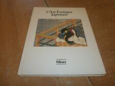 l'art érotique japonais , collection de l'art d'aimer, éditions liber (94)