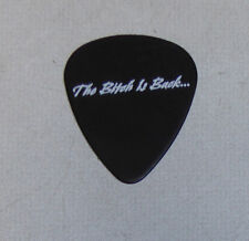 Lita Ford Official 2016 Dunlop Black Guitar Pick The Runaways Bitch is Back ...