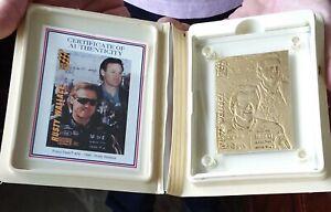 Rusty Wallace NASCAR 1994 Press Pass Highland Mint-Bronze card #1548/5000 COA