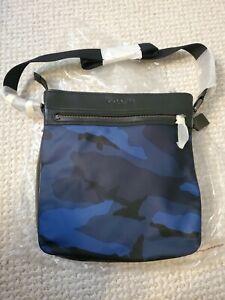 NWT TECH CROSSBODY IN NYLON (COACH F71949) Camouflage Crossbody Messenger Bag