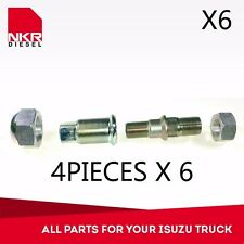 KIT REAR WHEEL NUTS & PIN LH 4 PCS (6 KITS)