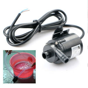 DC12V 280L/H Micro Brushless Submersible Water Pump for Aquarium Fountain Tool