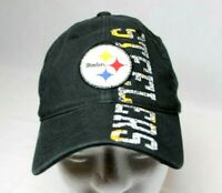 Pittsburgh Steelers  Black NFL Team Hat Cap Reebok One Size Small / Medium