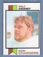 1973 Topps #252 Walt Sweeney EX-MT  High Grade Set Break