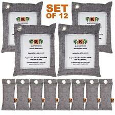 Naturally Activated Bamboo Charcoal Air Purifying Bag - SET of 12