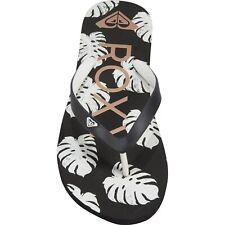 NWT Womens ROXY Tahiti VI Flip-Flops Beach Floral Summer Sandals Size 11