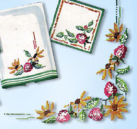 1940s Vintage Simplicity Embroidery Transfer 7399 Uncut Cross Stitch Flowers