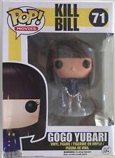 Funko Pop Movies Kill Bill Gogo Yubari 71 Vaulted/Retired Htf Nib Tarantino