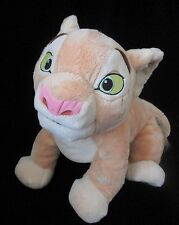 "Disney Store Nala Plush Soft Toy Stuffed Lion King 13"" Animal Cat"