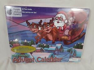 Santa & Friends Advent Calendar 24 Mochi Squishy Toys Christmas Limited Edition