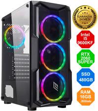 Gaming PC Intel I5-9600KF - RTX 2060 SUPER - SSD - 16GB - FORTNITE - RGB