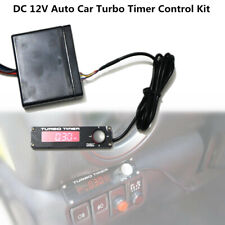 DC 12V Vehicle Car Truck Turbo Timer Control Kit Red LED Digital Display Pen Set