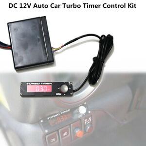 DC 12V Vehicle Car Truck Turbo Timer Control Kit Red LED Digital Display Pen Set