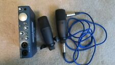 PreSonus AudioBox iTwo Portable USB Audio Interface with 2 microphone & cable
