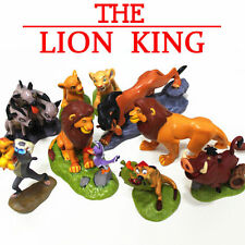 Lion King Action Figures Dolls Cake Topper Kid Toys For Birthday Gifts 9 PCS