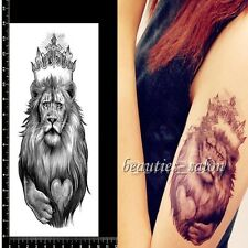 1 Sheet Cool Lion Print Temporary Tattoo Decal Body Art Sticker Waterproof Paper