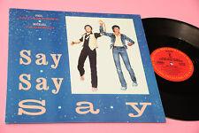 """PAUL MCCARTNEY MICHAEL JACKSON 12"""" SAY SAY SAY ORIG USA 1983 NM PROMO !!!!!!!!!!"""