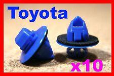 10 Toyota Prado Land Cruiser Side Moulding Wheel Arch Flare Plastic Trim Clips