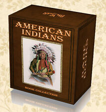 340 Native American Indian Rare Books on DVD - Tribes Myths Legends Totem Art A1
