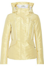 FENDI Roma metallic padded Ski Jacket SIZE 10 / 42 NEW FABULOUS Was $2600