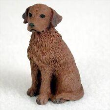 Chesapeake Bay Retriever Dog TiNy Figurine resin Miniature Mini Chessie New