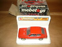 MEBETOYS FIAT 128 COUPE' AUTOMODELLO SCALA 1/25