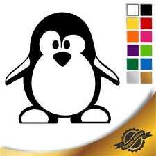 Aufkleber Sticker Autoaufkleber Pinguin 1, 10 x 10 cm