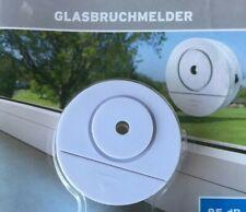 Fensteralarm mit Sirene Batterie Alarmgerät Türalarm gegen Einbrecher Glasbruch