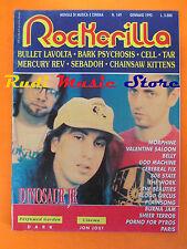 rivista ROCKERILLA 149/1993 Dinosaur Jr. Mercury Rev Bullet Lavolta Tar  NO cd