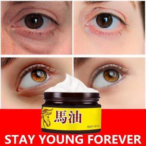 Horse Oil Face Cream Moisture Skin Firming Eye Cream Remove Dark Circles Eye Bag