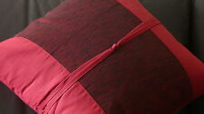 Decorative Cushion - Pillow - Red - Burgundy
