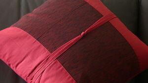 Decorative Cushion - Pillow - Red - Burgundy