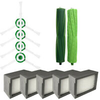 For iRobot Roomba i7 i7+/i7 Plus E6 E5 E7 Hepa Filters Bristle Brush Side Brush