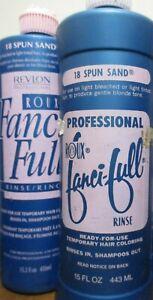 2x Roux Fanci-Full Rinse, 18 Spun Sand, 15 oz