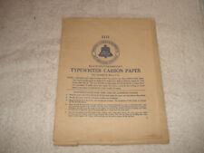 Vintage AT&T Bell system Typewriter carbon paper