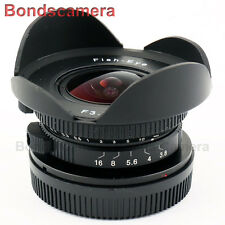 "NEW 8mm f / 3.8 C Mount CCTV LENS FOR 4 / 3 ""SENSORE Micro M4 / 3 OLYMPUS PANASONIC MFT"