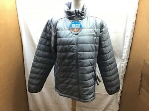 Columbia Omni-Heat Thermal Reflective Men's Puffer Jacket Gray, Large — NWT