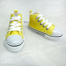 Elf Rainy Ryung Soah Super Dollfie SD13 Boy 1/3 Bjd Shoe Metallic Sneaker YELLOW