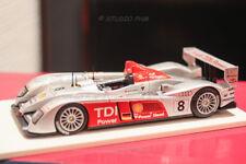 AUDI R10 N° 8 AUDI SPORT T.JOEST Winner 24H MANS 2006 1:43 PHM EXCLUSIV No Spark