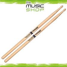 "3x Pairs Promark 5A Forward Balance .550"" Hickory Drumsticks w Teardrop Wood Tip"