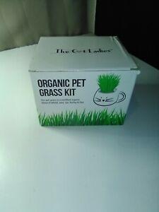 Organic Pet Grass Kit By The Cat Ladies