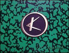 Kay Headstock Logo, 60's Kay Guitar & Bass Headstock Emblem   EZPZ GUITAR PARTS